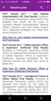 Haryana government Jobs - Daily Jobs Alert 2018 screenshot 5