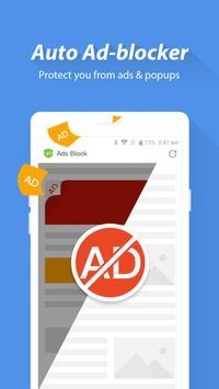 Turbo Browser: Private & Adblocker & Fast Download screenshot 5
