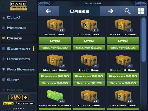 case clicker how to get knives