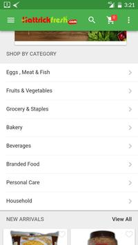 Hattrickfresh - Online Grocery screenshot 2