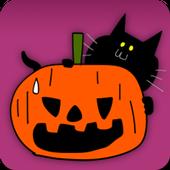 Haunted Halloween Sticker icon