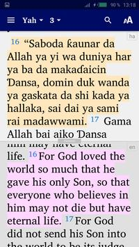Hausa Bible screenshot 5