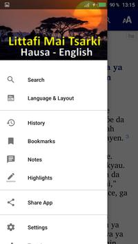 Hausa Bible screenshot 1