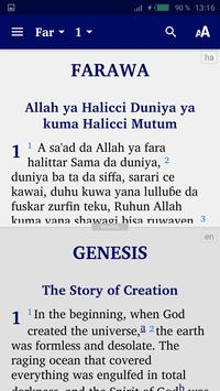Hausa Bible screenshot 3