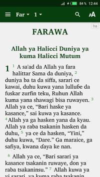 Hausa Bible et français poster