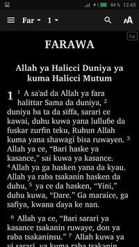 Hausa Bible et français screenshot 1