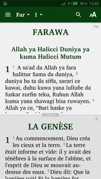 Hausa Bible et français screenshot 4