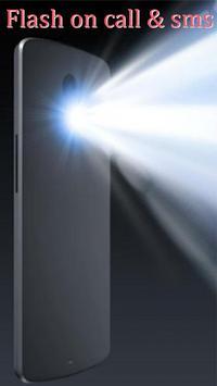 Flash light alert : call/sms screenshot 4