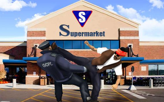 Supermarket Robbery Crime City Real Gangster Games screenshot 3