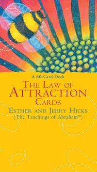The Law of Attraction Cards- Esther & Jerry Hicks poster