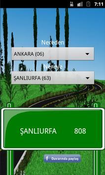 Distance Between Turkey Cities screenshot 3