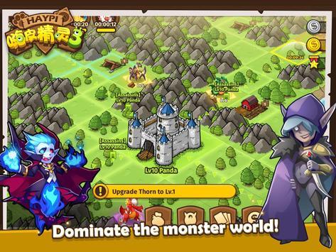 Haypi Monster 3 تصوير الشاشة 9