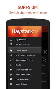 3 Schermata Haystack TV