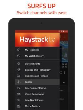 8 Schermata Haystack TV
