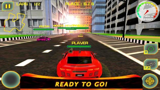 Car War Racing 3D : Smash Cars poster