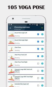Séances de yoga à domicile - Yoga quotidien capture d'écran 7