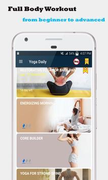 Séances de yoga à domicile - Yoga quotidien capture d'écran 8