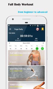 Séances de yoga à domicile - Yoga quotidien capture d'écran 12
