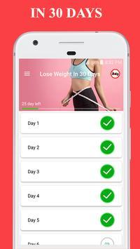 1 Schermata Perdere peso in 30 giorni