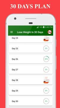 9 Schermata Perdere peso in 30 giorni