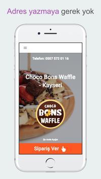 Choco Bons Waffle - Kayseri screenshot 2