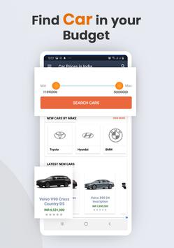 Car Prices in India screenshot 1