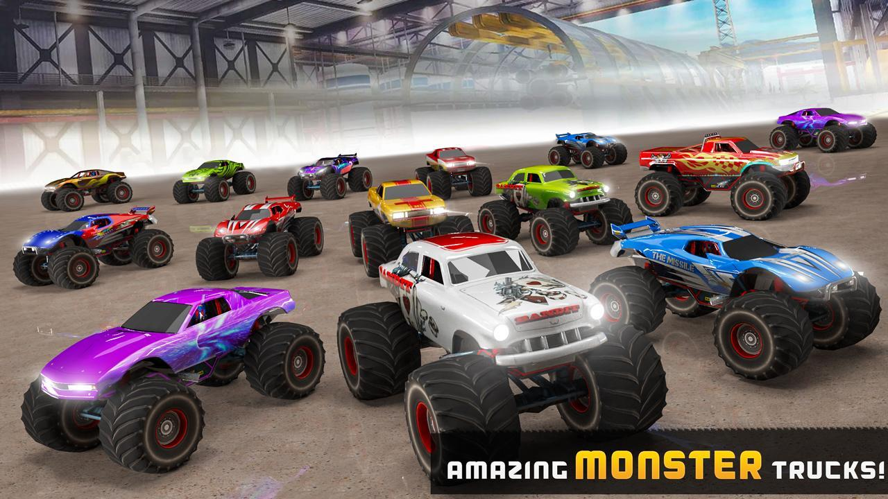 Impossible Tracks Monster Truck Stunts For Android Apk Download