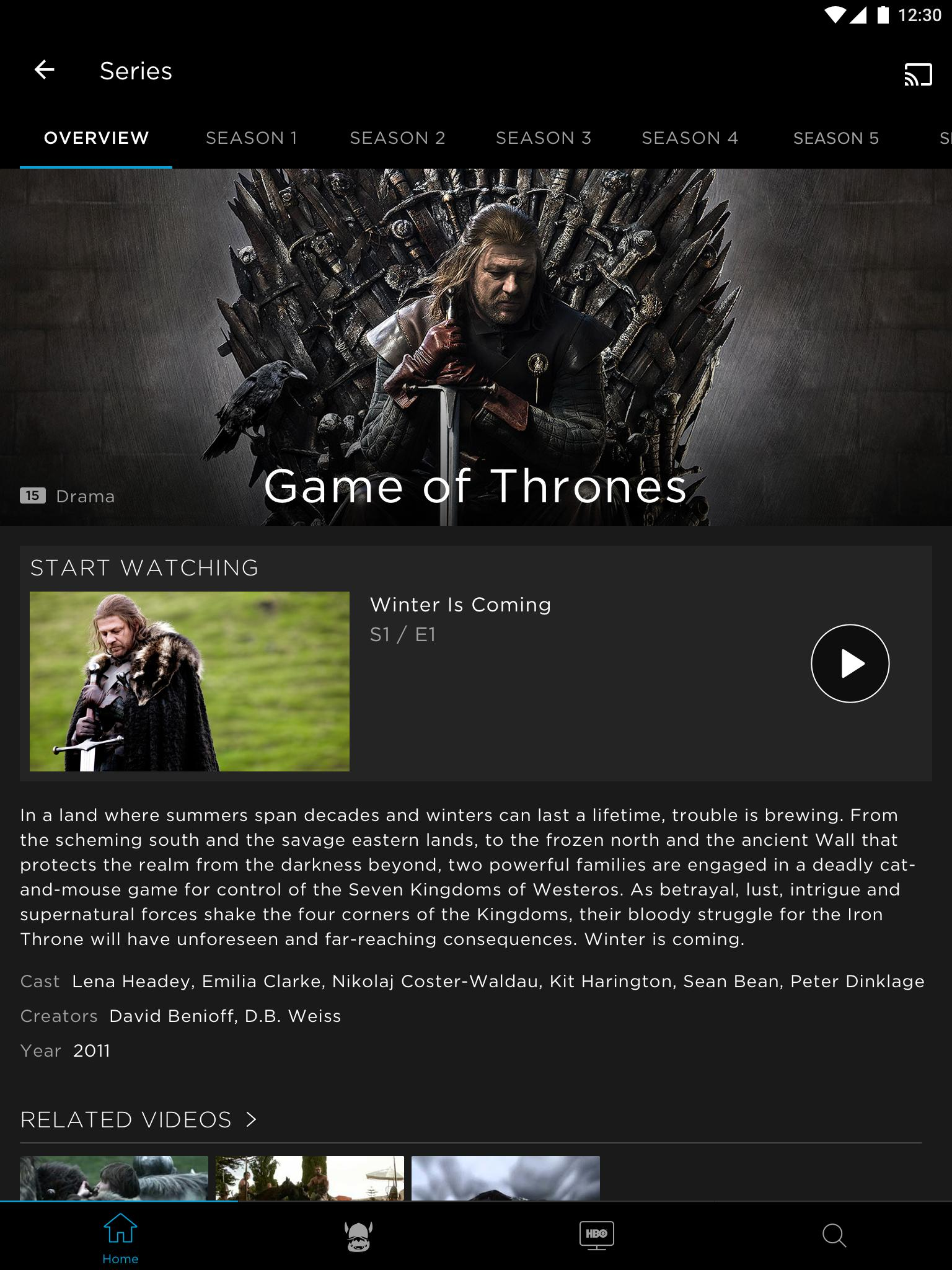 HBO for Android - APK Download