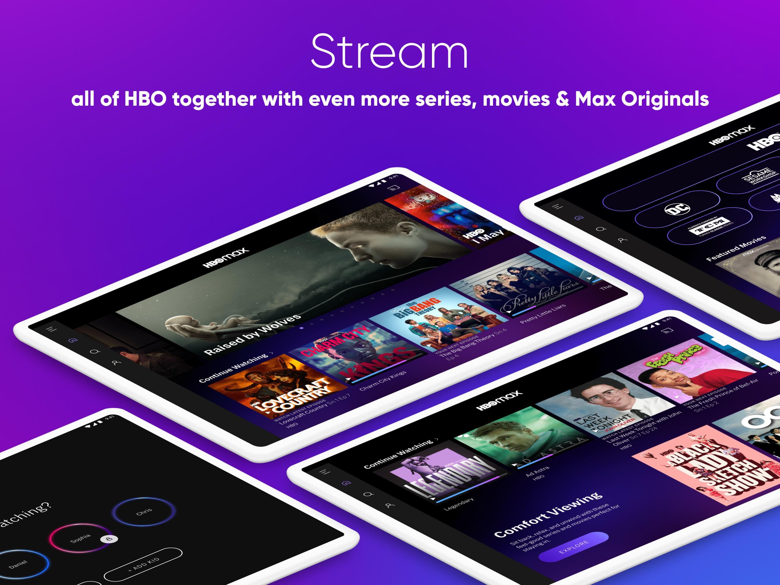 HBO Max for Android - APK Download