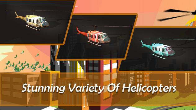 Helicopter City Simulation 3D: Transport & Rescue screenshot 10