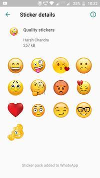 Amazing Stickers -Emoji Anime Cute WAStickerApps poster