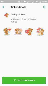 Amazing Stickers -Emoji Anime Cute WAStickerApps screenshot 2