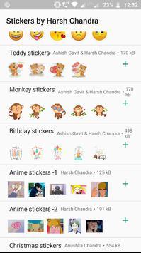Amazing Stickers -Emoji Anime Cute WAStickerApps screenshot 3