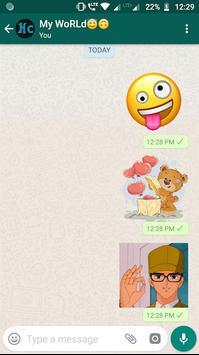 Amazing Stickers -Emoji Anime Cute WAStickerApps screenshot 7