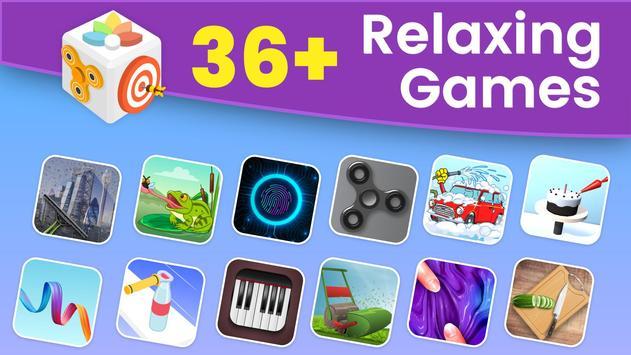 Goo Antistress Toys Fidget Cube: Slime games 2021 poster
