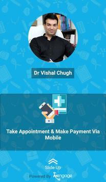 DR Vishal Chugh's Radiant Skin Clinic poster