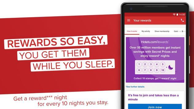 Hotels.com screenshot 2