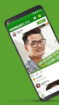 HCMUAF Cam poster