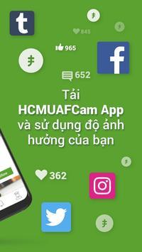 HCMUAF Cam screenshot 1