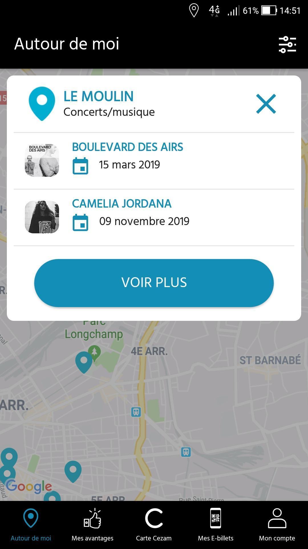 Carte Cezam Le Puy Du Fou.Ma Carte Cezam For Android Apk Download