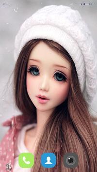 Cute Doll Wallpaper screenshot 9