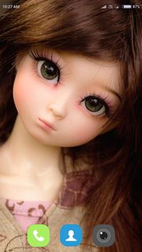 Cute Doll Wallpaper screenshot 13