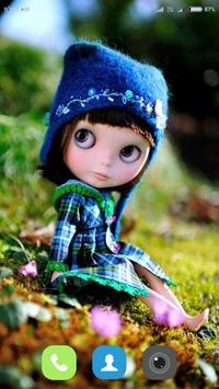 Cute Doll Wallpaper screenshot 11