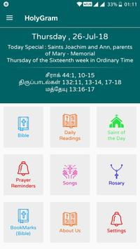 Tamil Catholic Bible - Audio, Readings, Prayers screenshot 1