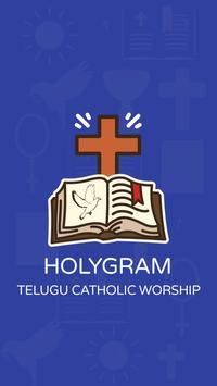 Telugu Catholic Bible - Audio, Readings, Prayers poster