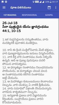 Telugu Catholic Bible - Audio, Readings, Prayers screenshot 6