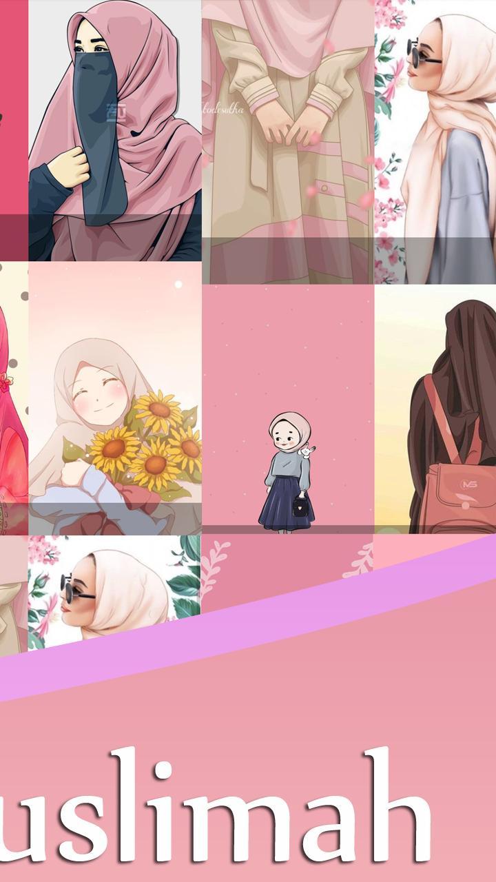 900 Wallpaper Anime Muslimah Hd HD Terbaik