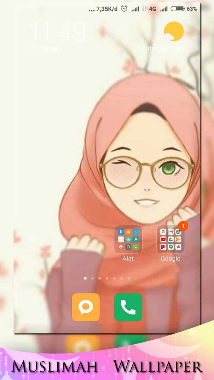 Girly Muslimah Hd Wallpaper For Android Apk Download