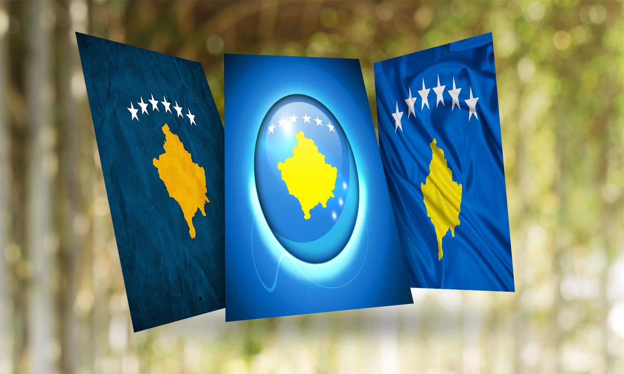 Kosovo Flag für Android - APK herunterladen
