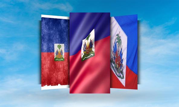 Haiti Flag Wallpaper screenshot 1